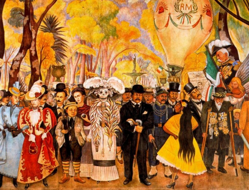 diego rivera, dream of a sunday afternoon, alameda park, sous le volcan, malcolm lowry, under the volcano