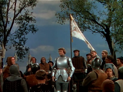 jeanne d'arc, joan of arc, victor fleming, ingrid bergman, technicolor, magicien d'oz, armure