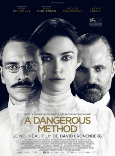 a dangerous method, david cronenberg, affiche