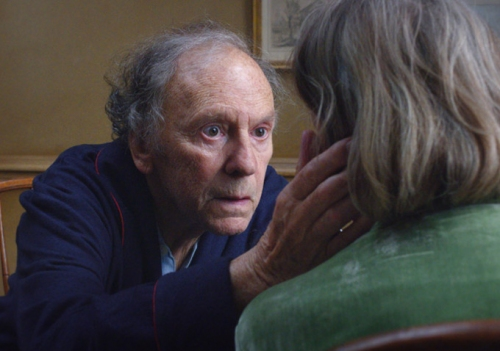 amour,michael haneke, jean-louis trintignant, emmanuelle riva