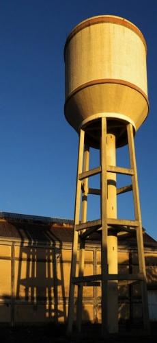 silo, blockhaus, zone, trois pylônes